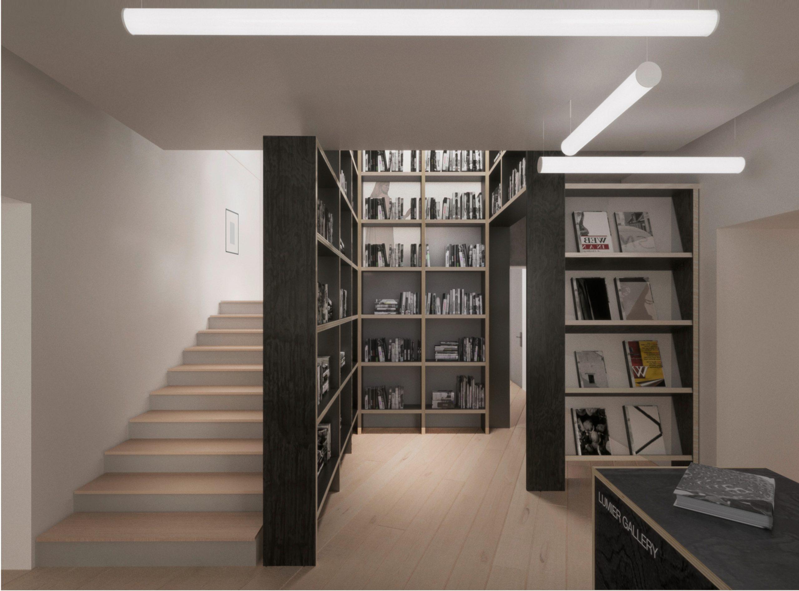 Галерея Люмьер книжный магазин