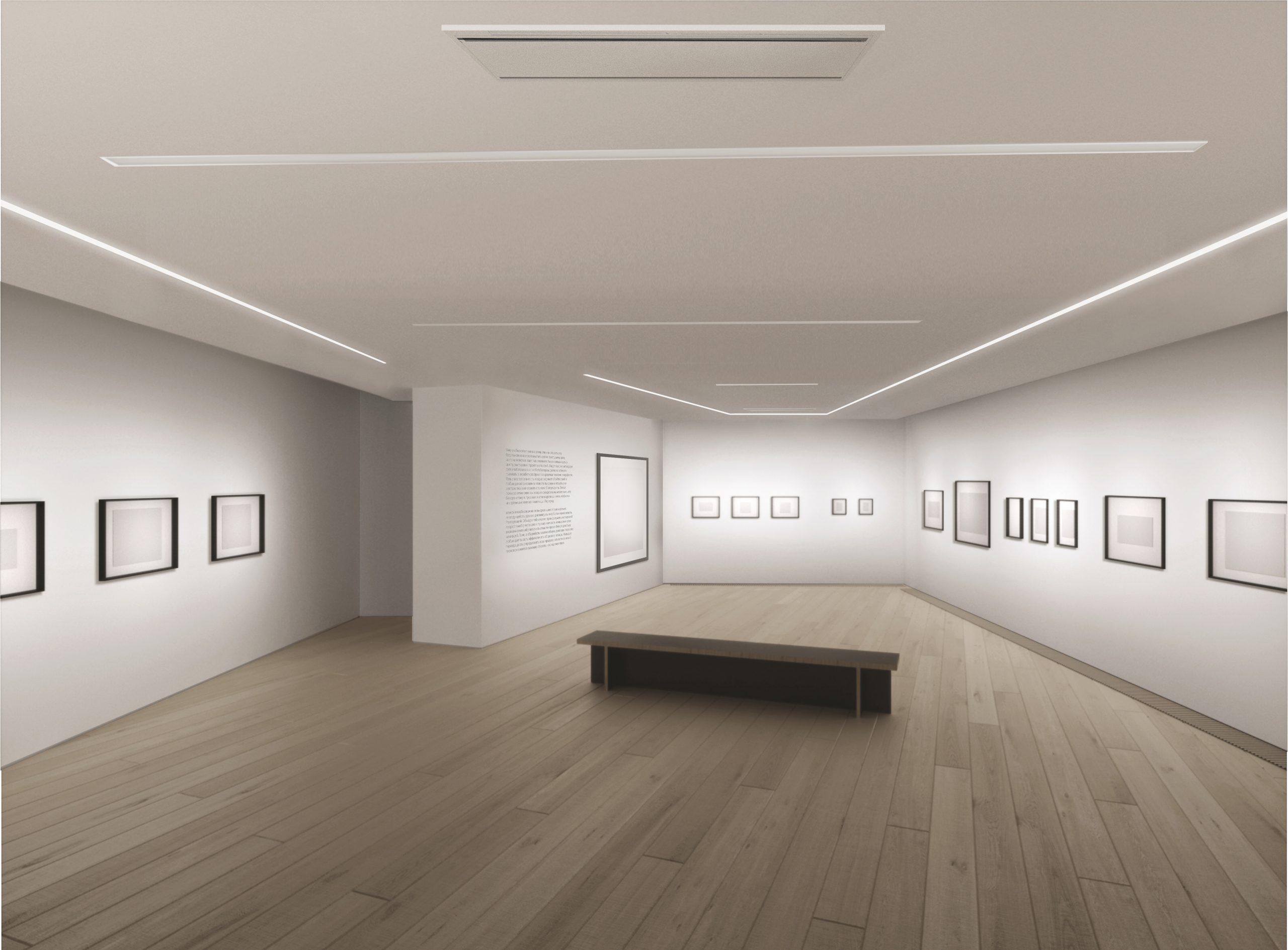 Галерея Люмьер выставочное пространство
